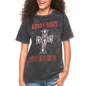 Guns N Roses Mineral Wash rock Tee S L NWT